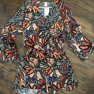 NWT H&M Romper with Bell sleeves